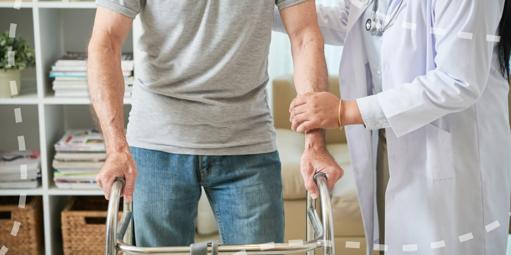 Features of rehabilitation after injuries received from a car accident